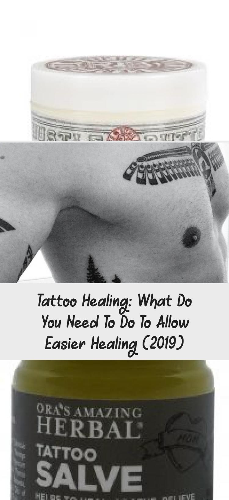 Tattoo Healing What Do You Need to Do to Allow Easier
