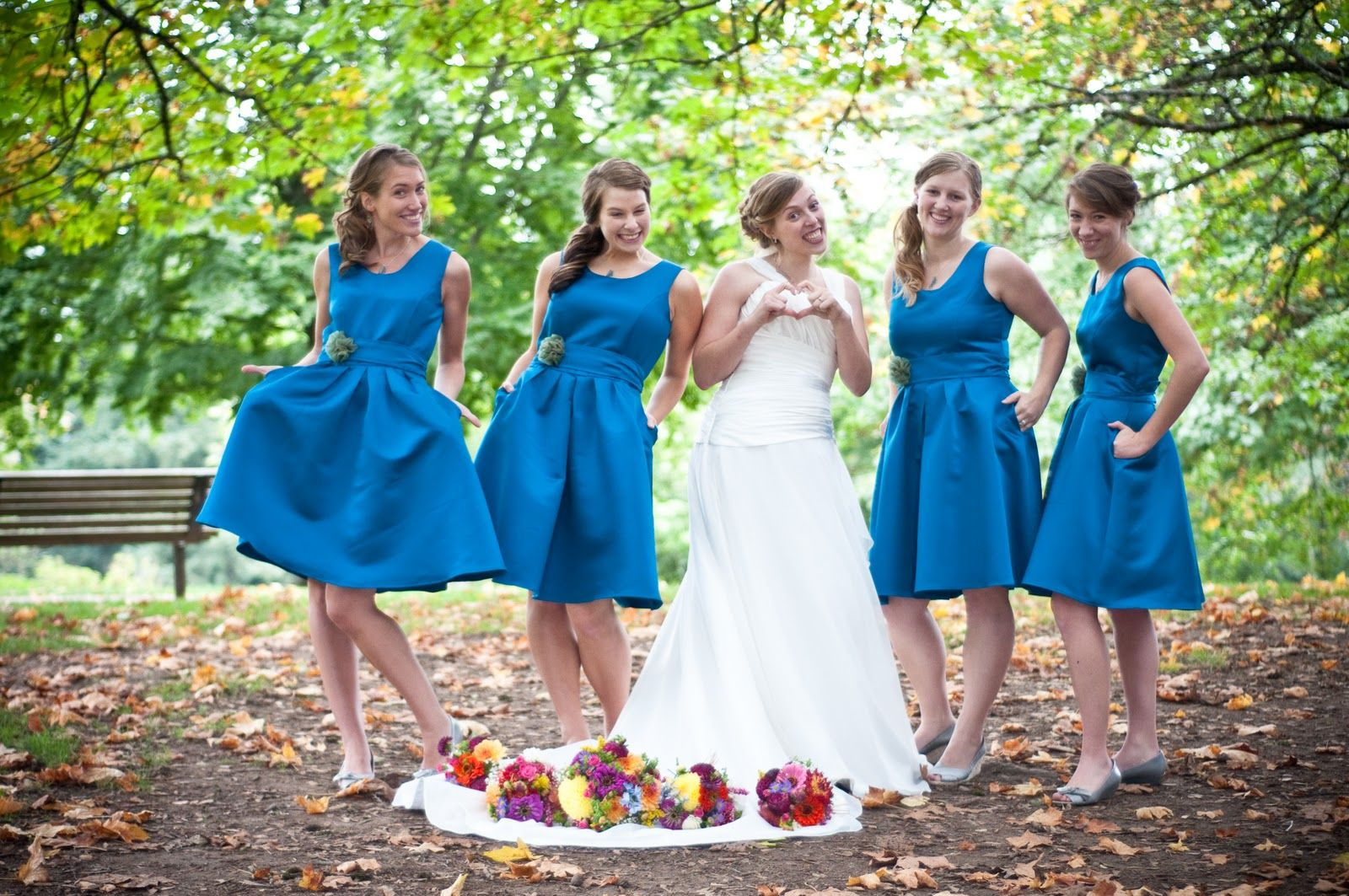 Blue bridesmaids dresses mt tabor portland oregon wedding blue bridesmaids dresses mt tabor portland oregon wedding bend oregon photographer ombrellifo Image collections