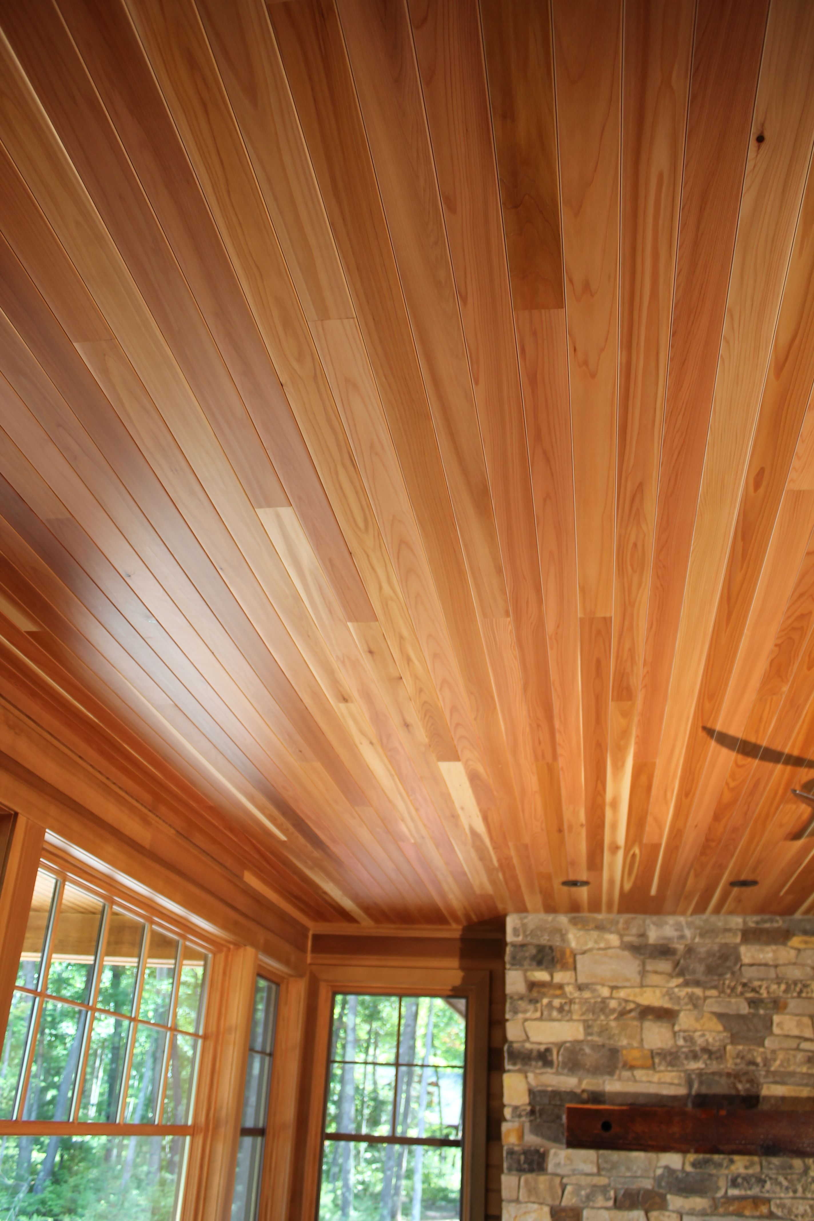 Select Satin Cedar Standard V Joint Endmatched Endura Oil Contemporary Collections Classic Collection Tongue And Groove