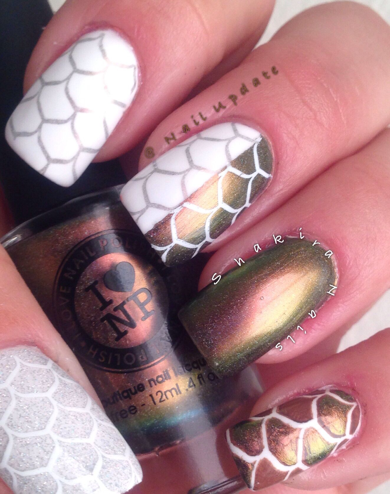Dragon Nails #inlp #notagolia #NailUpdate #VL | Nails | Pinterest