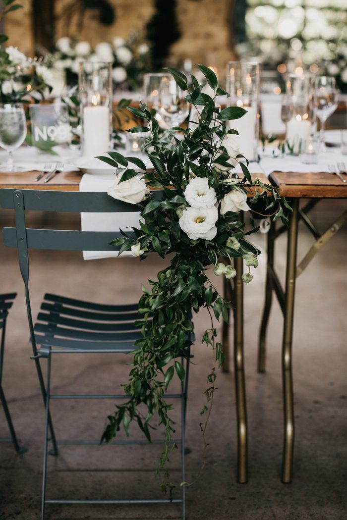 This Blogger's Urban Chic Millwick Wedding is Minimalist, Lush, and Modern | Junebug Weddings