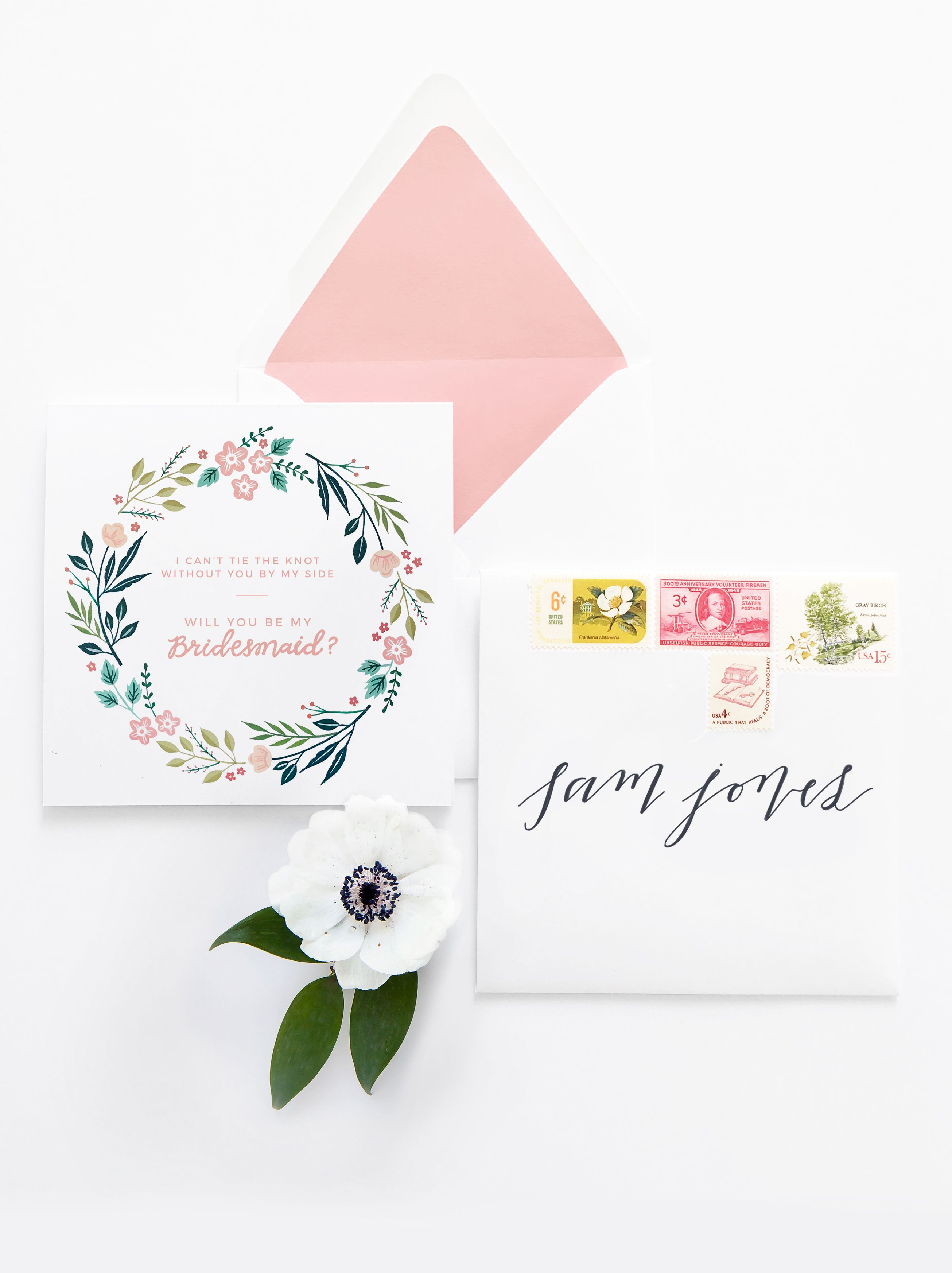 picture regarding Free Printable Bridesmaid Cards named Absolutely free printable - Will on your own be my bridesmaid card Stationery