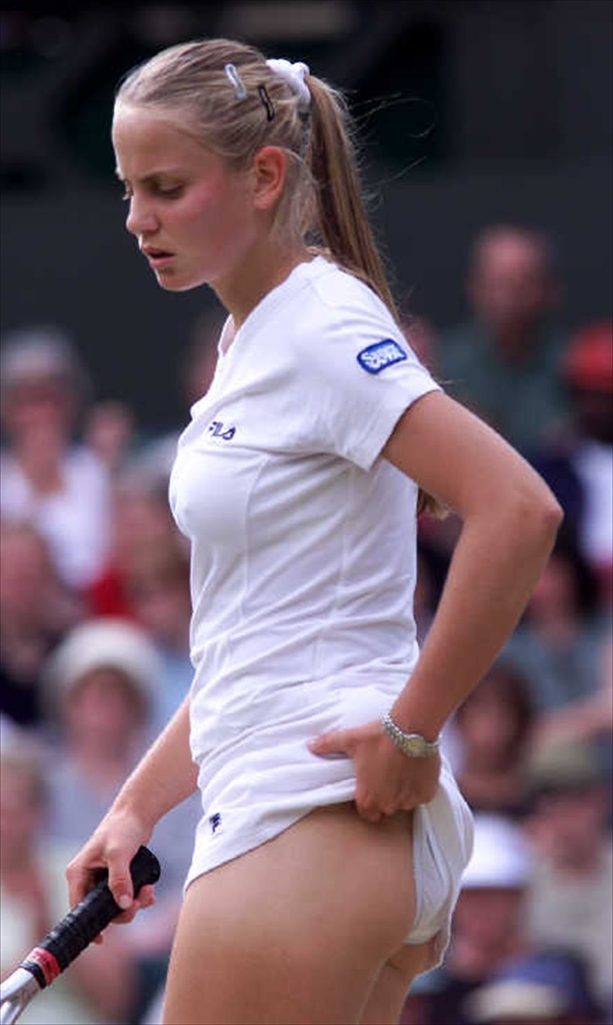 Tennis hotties upskirt