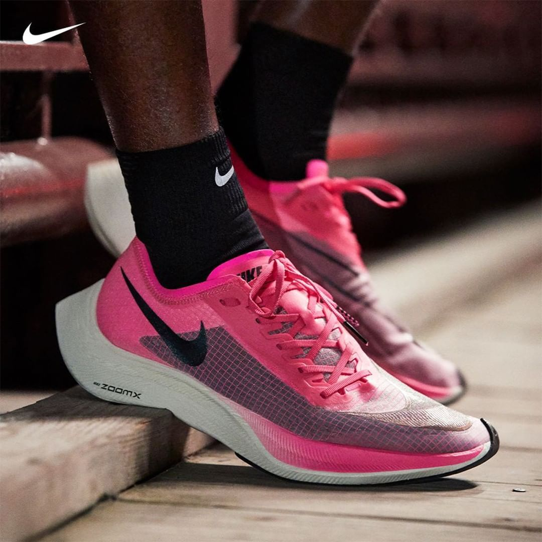 Eastbay On Instagram Shatter Your Personal Speed Records In The New Pink Colorway Of The Nike Zoomx Vaporfly Next Running Shoes For Men Nike Sneakers Nike
