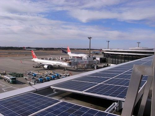 Bangalore S Kempegowda International Airport Plans To Become The Largest Solar Producing Airport In India Aiming To Generate 1 In 2020 Solar Solar Panels Solar Energy