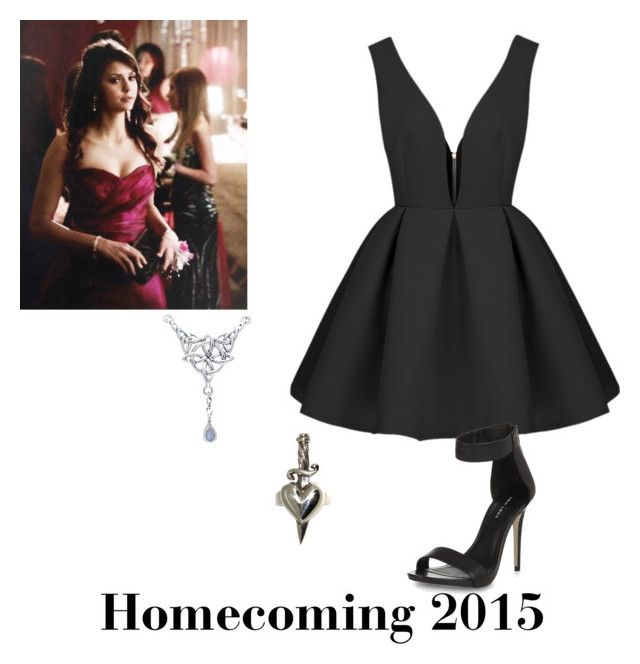 """Homecoming 2015"" by four1d ❤ liked on Polyvore featuring Metal Couture and Carolina Glamour Collection"