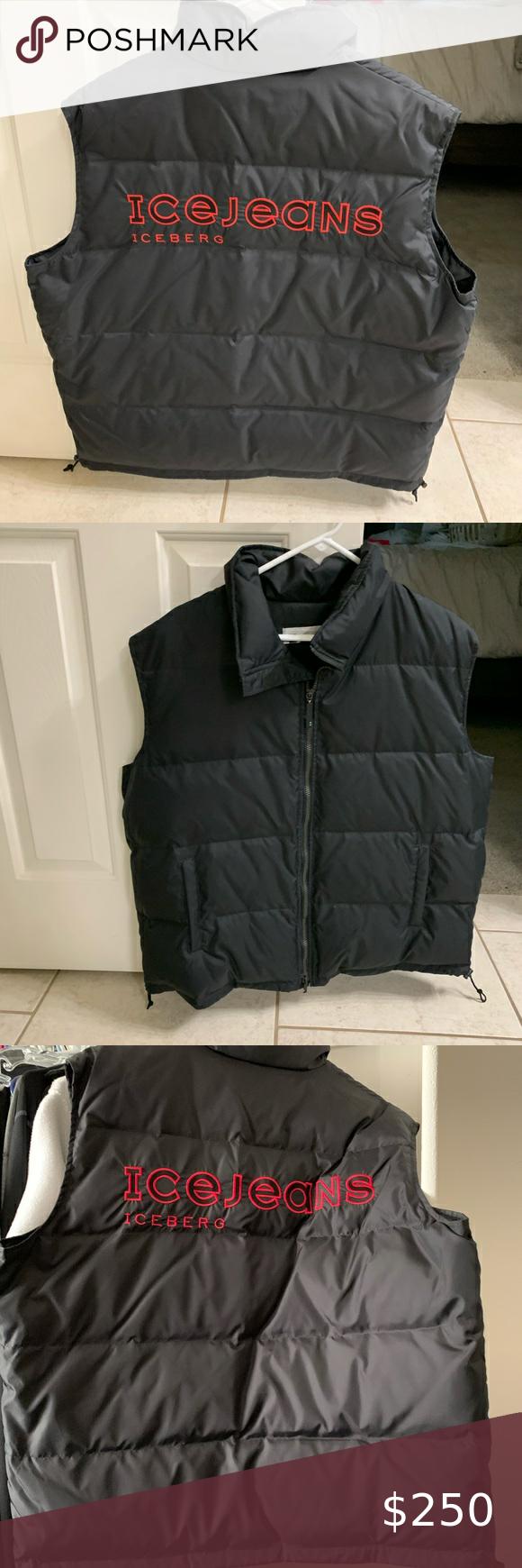 Men S Iceberg Vest Limited Edition Vest Jackets For Women Men [ 1740 x 580 Pixel ]