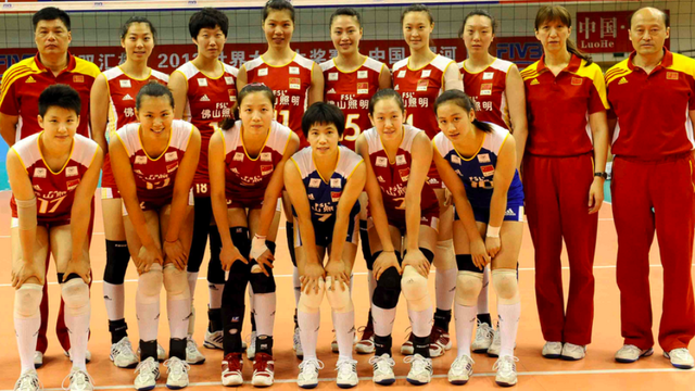 The Chinese Women S Olympic Volleyball Team Stopped Eating Meat And Stopped Playing Well Olympic Volleyball Volleyball Team Volleyball
