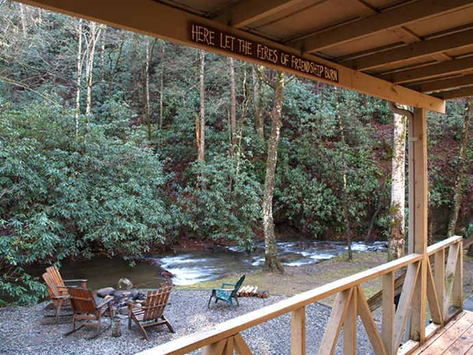 The cottage hidden creek cabins two bedroom one bath - 1 bedroom cabins in smoky mountains ...