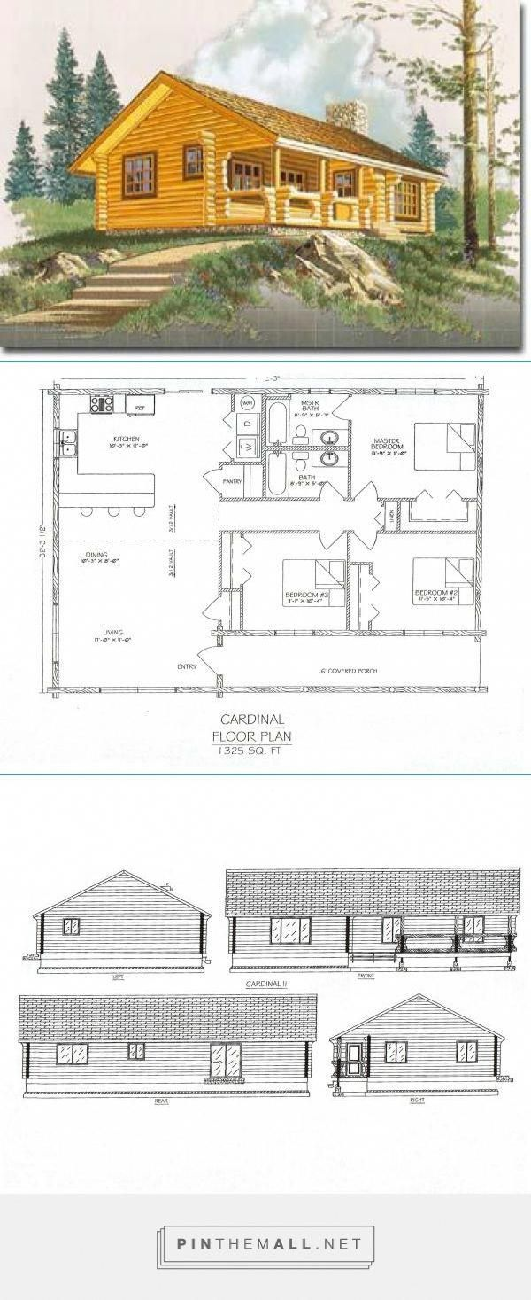 The Cardinal I Appeals To Families Because Of Its Basic Floor Plan And Easy To Build Design It Also Works Ver Floor Plans Deck Building Cost Building A Deck