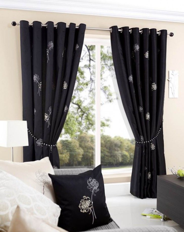 excellent living room curtain ideas modern