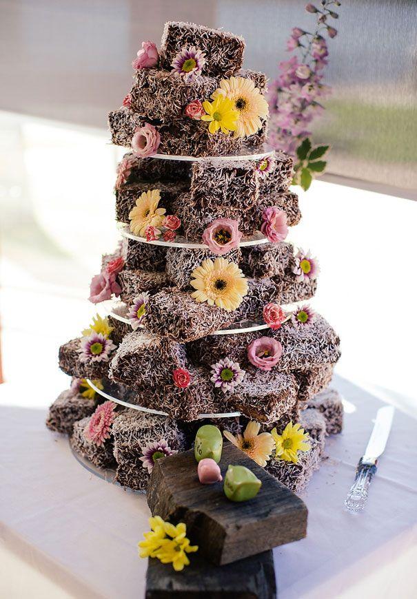 Lammington Wedding Cake Lawn Bowls Bowling Club Wedding Reception
