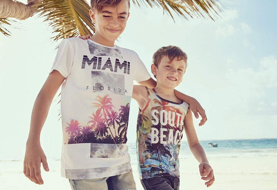 53033c34f4 For the stylish little dudes. They'll love Primark summer kidswear ...