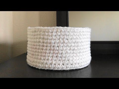 List Of Pinterest Mand Haken Patroon Crochet Baskets Pictures