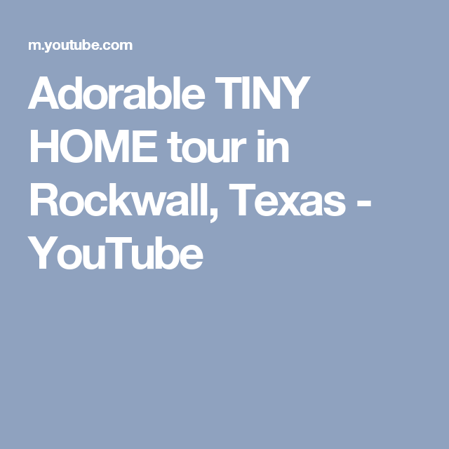 adorable tiny homes texas. Adorable TINY HOME tour in Rockwall  Texas YouTube Love Tiny