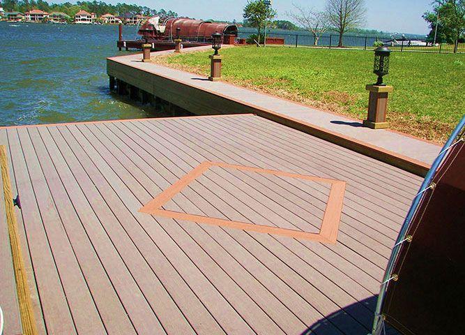 Moistureshield Composite Decking Deck Flooring Decks Backyard Deck