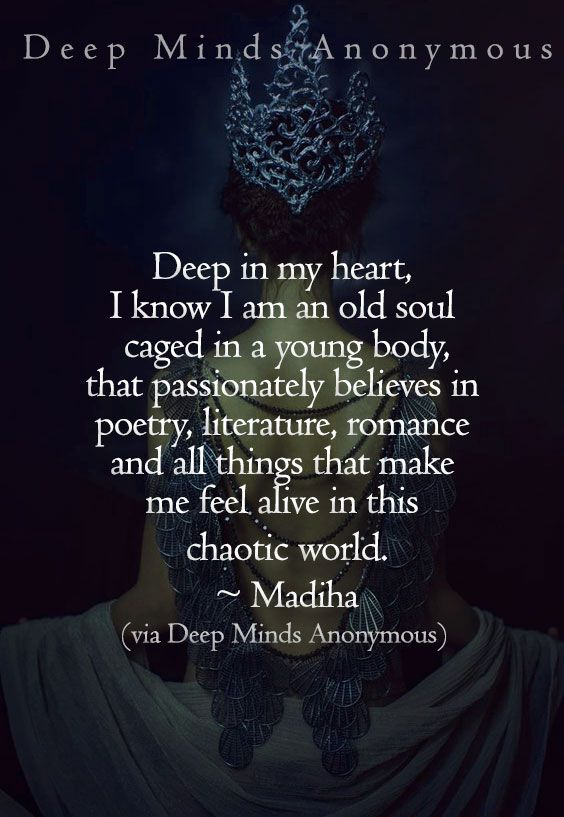 description of an old soul