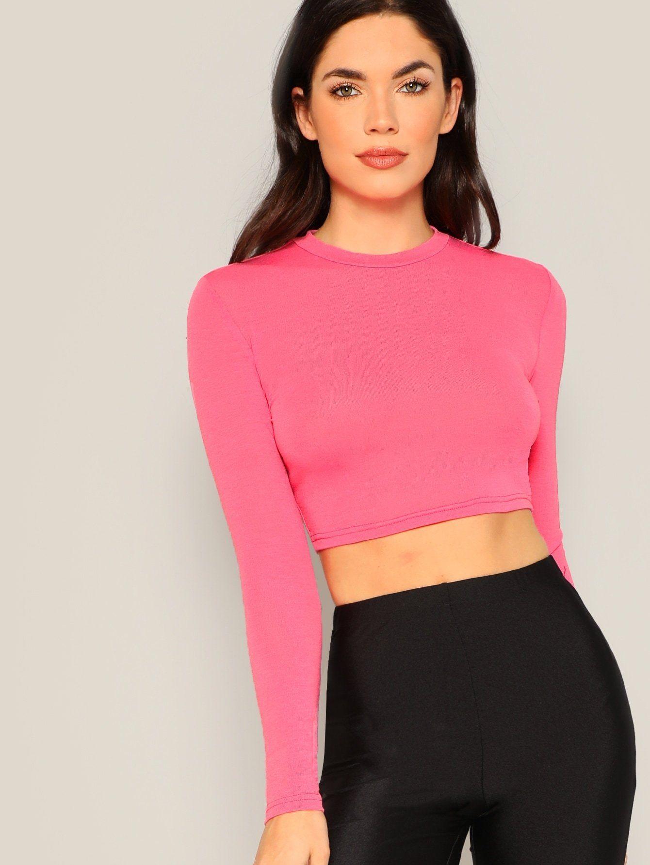 Criss Cross Neon Pink Scuba Romper @ Cicihot Top Shirt Clothing Online Store: Dress Shirt,Sexy