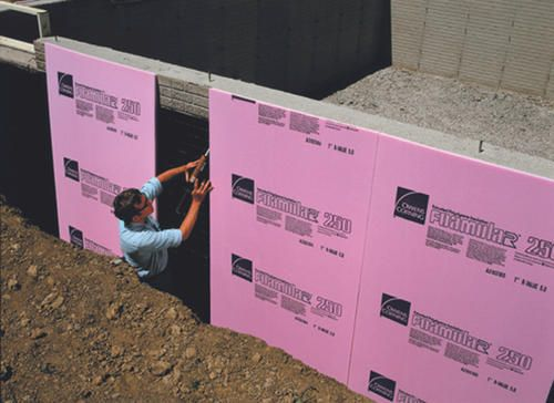 2 Inch Foam Board Insulation Plumbing Insulation Foam Insulation Board Rigid Foam Insulation
