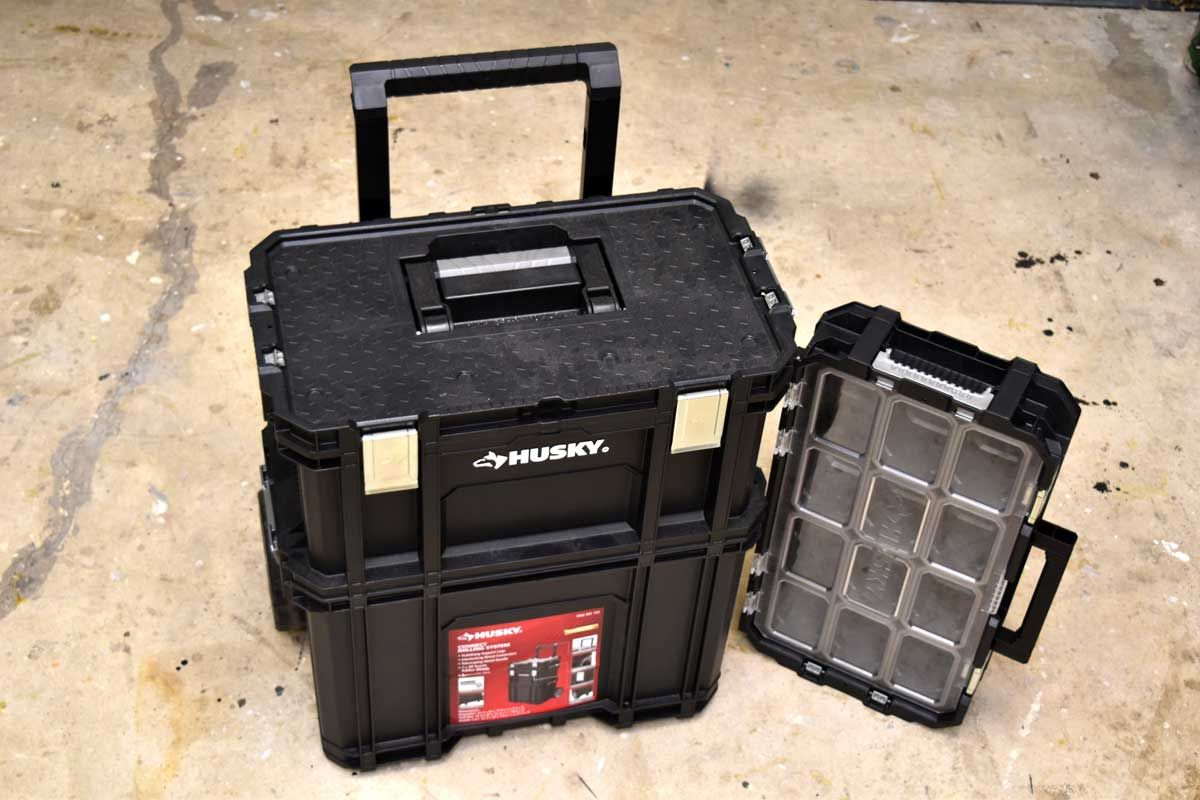 Husky 22 in. Connect Rolling System Tool Box Tool box