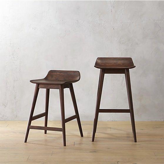 Sensational Crate And Barrel Cb2 Wainscott Bar Stools Furnishings Pabps2019 Chair Design Images Pabps2019Com