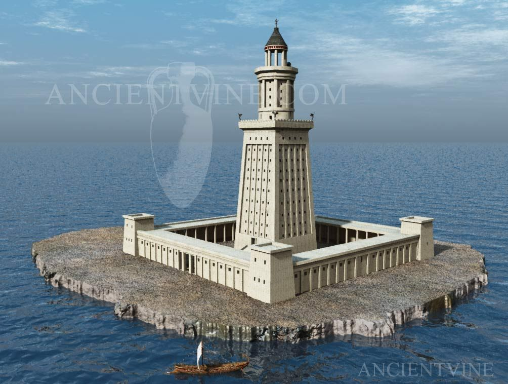 the purpose of the lighthouse of alexandria