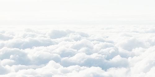 Aesthetic Cloud Wallpaper White