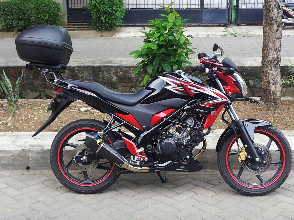 Modifikasi Motor Honda CB 150 R Touring Box Modifikasi Motor