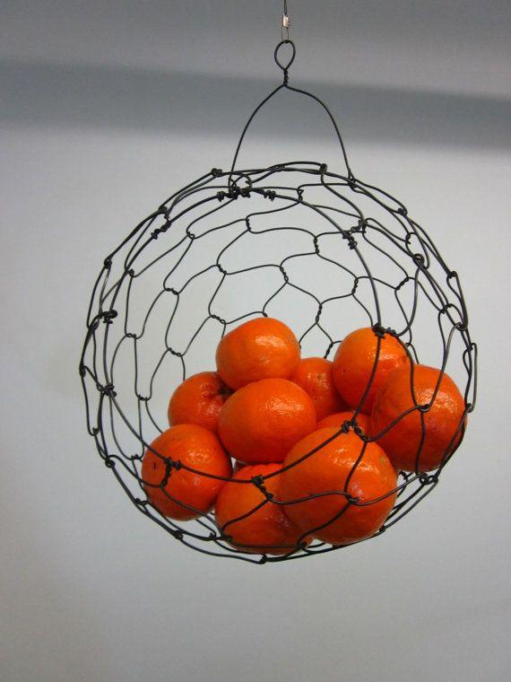 hanging fruit basket | hanging fruit baskets, kitchen