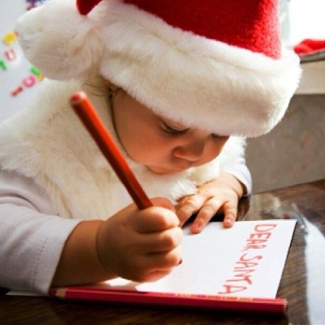 Dear Ꮥαntα, I've been good this year…….