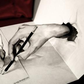 32 Increíbles dibujos en 3D realizados solamente con lápiz