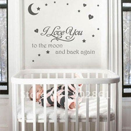 Nursery Wall Decals Personalize Your Babys Nursery In Seconds - Baby nursery wall decals sayings