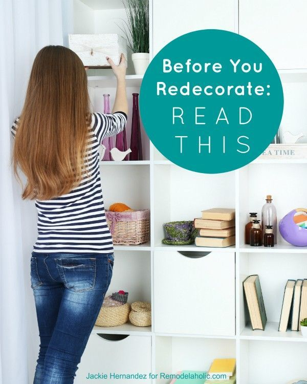 These are great questions to think about for any room makeover. How to get redecorating right, the first time, by getting to the core of what needs done in a room to make it work for you.