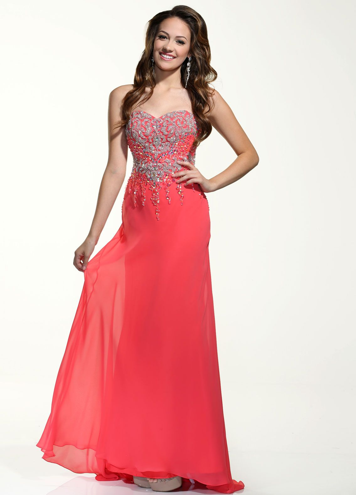 Pin by hannah verre on dressmania pinterest prom coral and fashion