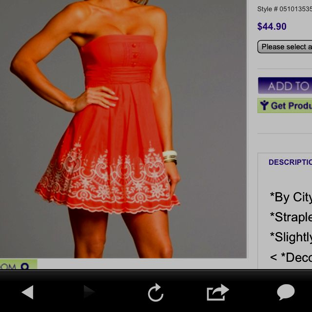 Must have summer dress. Classy and cute