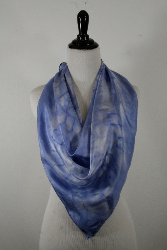 Hey, I found this really awesome Etsy listing at https://www.etsy.com/listing/156990470/vintage-large-square-silk-scarf-tie-dyed