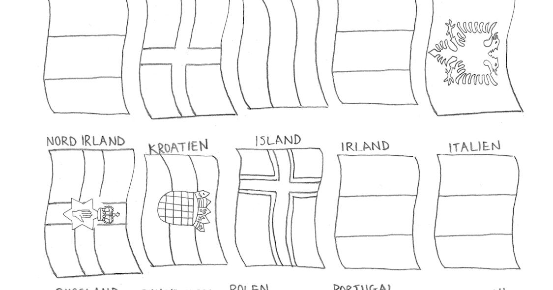 malvorlage flaggen wm 2020  coloring and malvorlagan