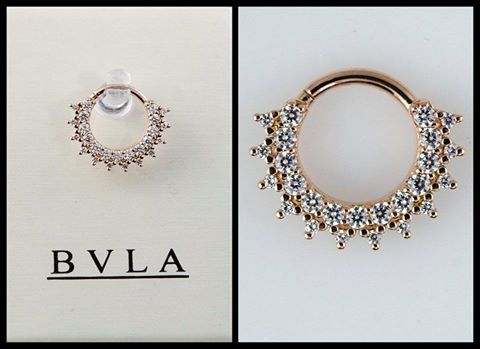 Bvla Septum Clicker Septum Jewelry Piercing Jewelry Septum Nose Rings