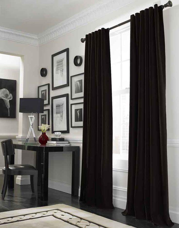 Black Curtains Living Room Amazing Design Ideas