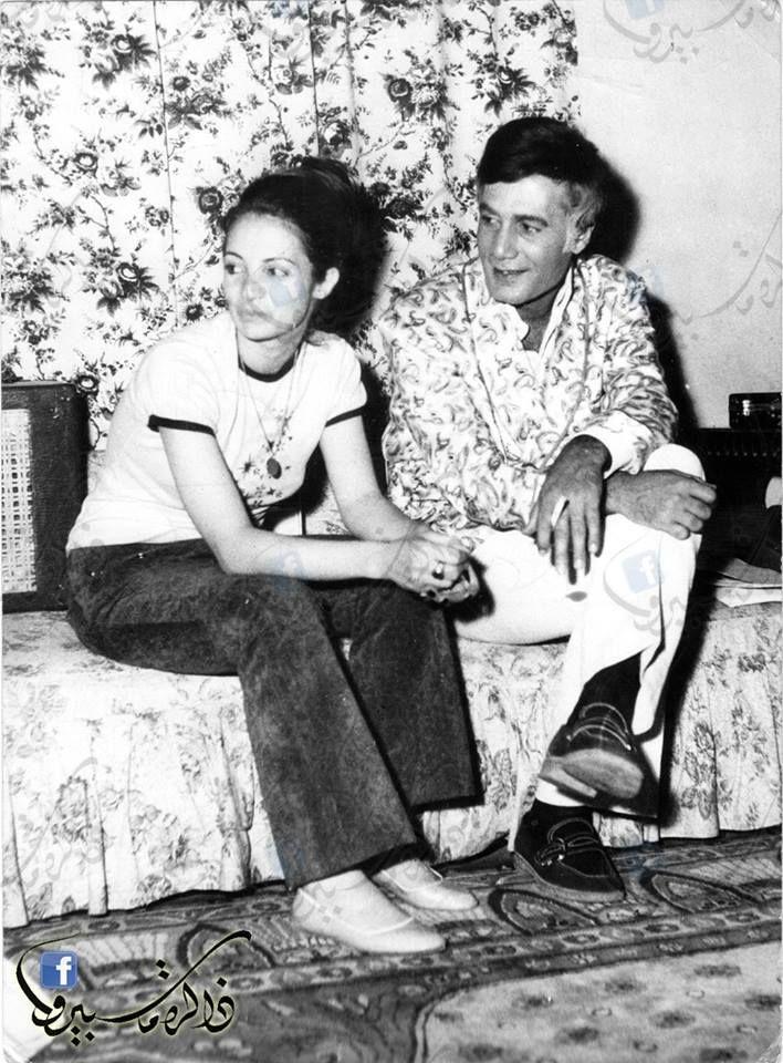 محمود ياسين و زوجته شهيرة Egypt Movie Egyptian Movies Egyptian Actress