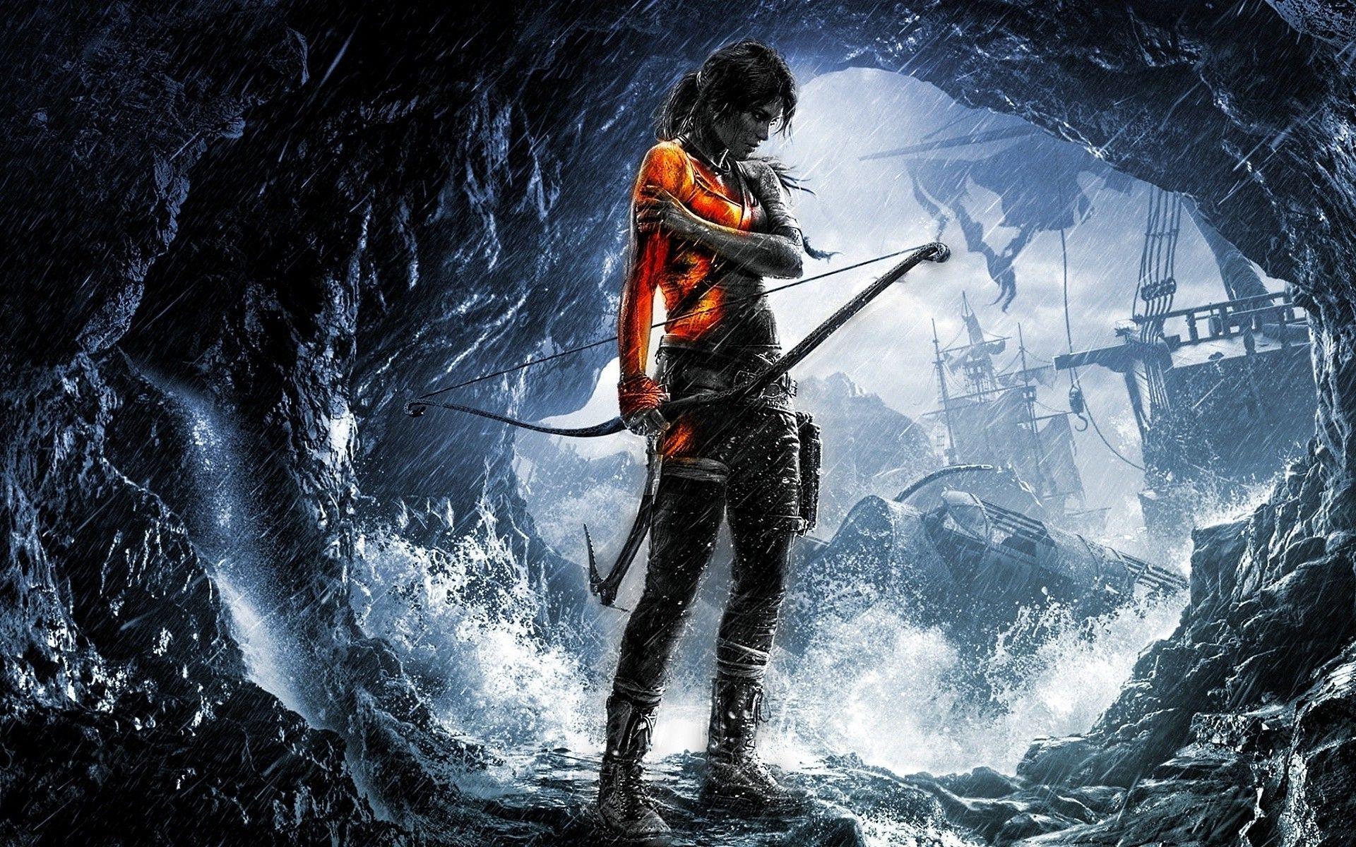 Lara Croft Rise Of The Tomb Raider Wallpapers Uloussavers