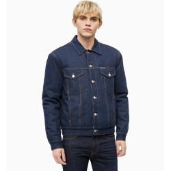 Photo of Outlet – Calvin Klein Lined trucker jacket made of denim L – Extra Sale Calvin Klein