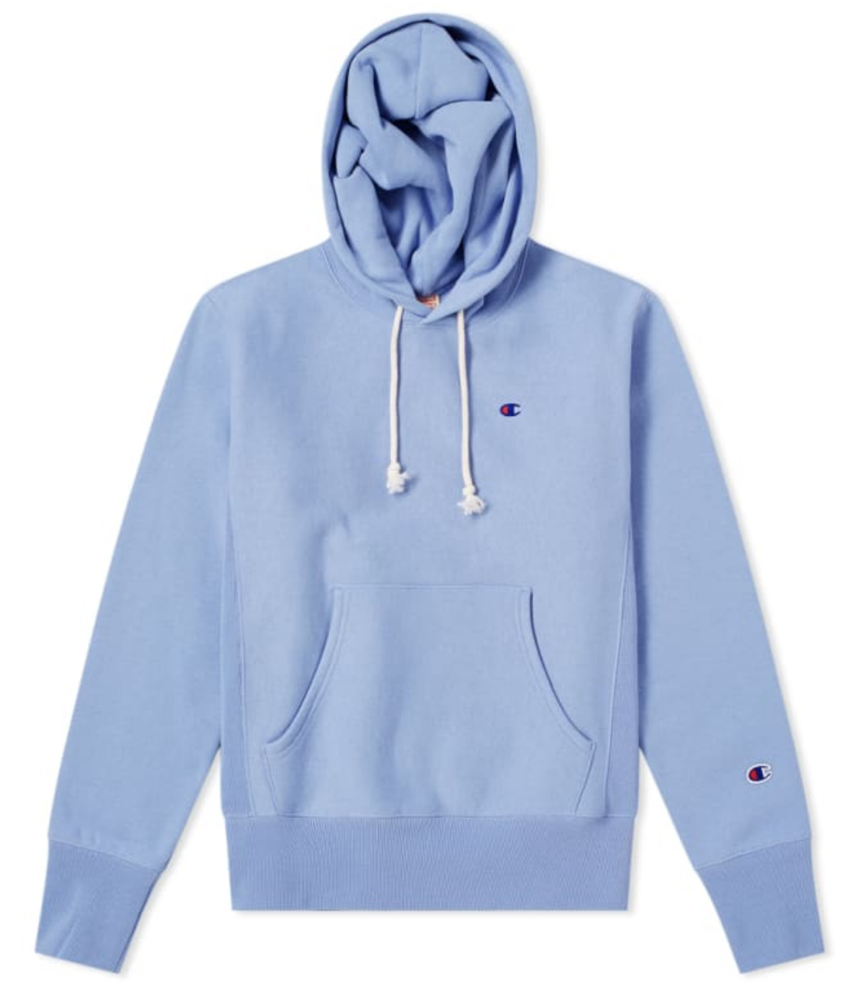 Champion Reverse Weave Classic Hoodie Lilac WashSky Blue