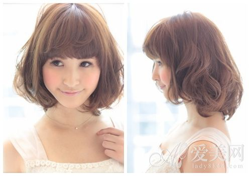 Terrific Shorts Short Hairstyles And Korean Perm On Pinterest Short Hairstyles Gunalazisus