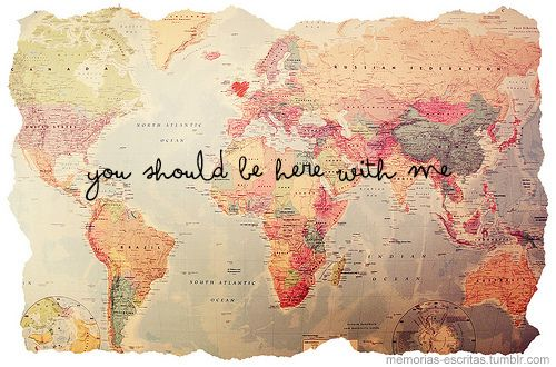 Lara Oliveira Love Map Travel World
