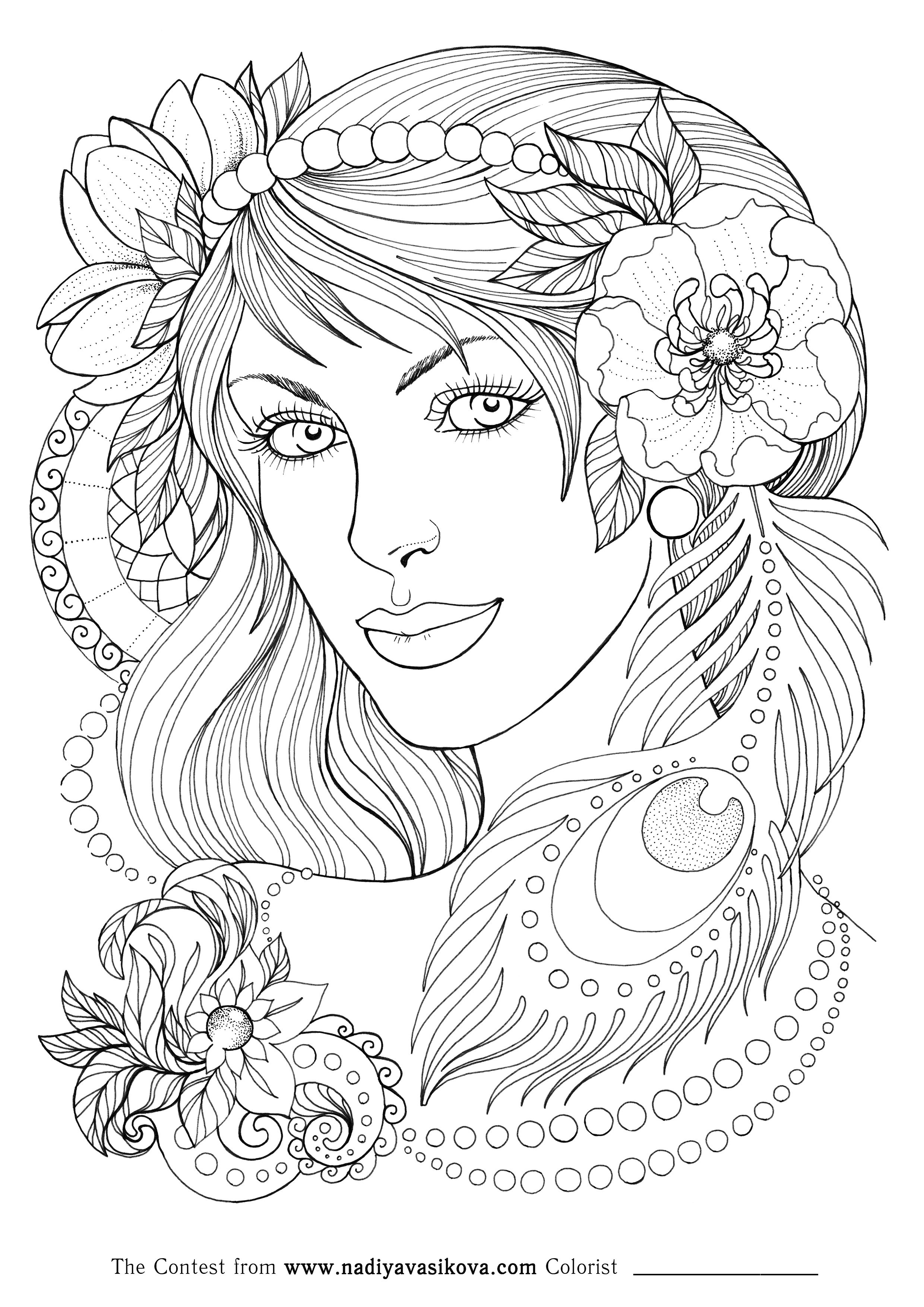 Pearl Beads Contest Jpg 2480 3508 Dance Coloring Pages Coloring Pages Inspirational Coloring Pages