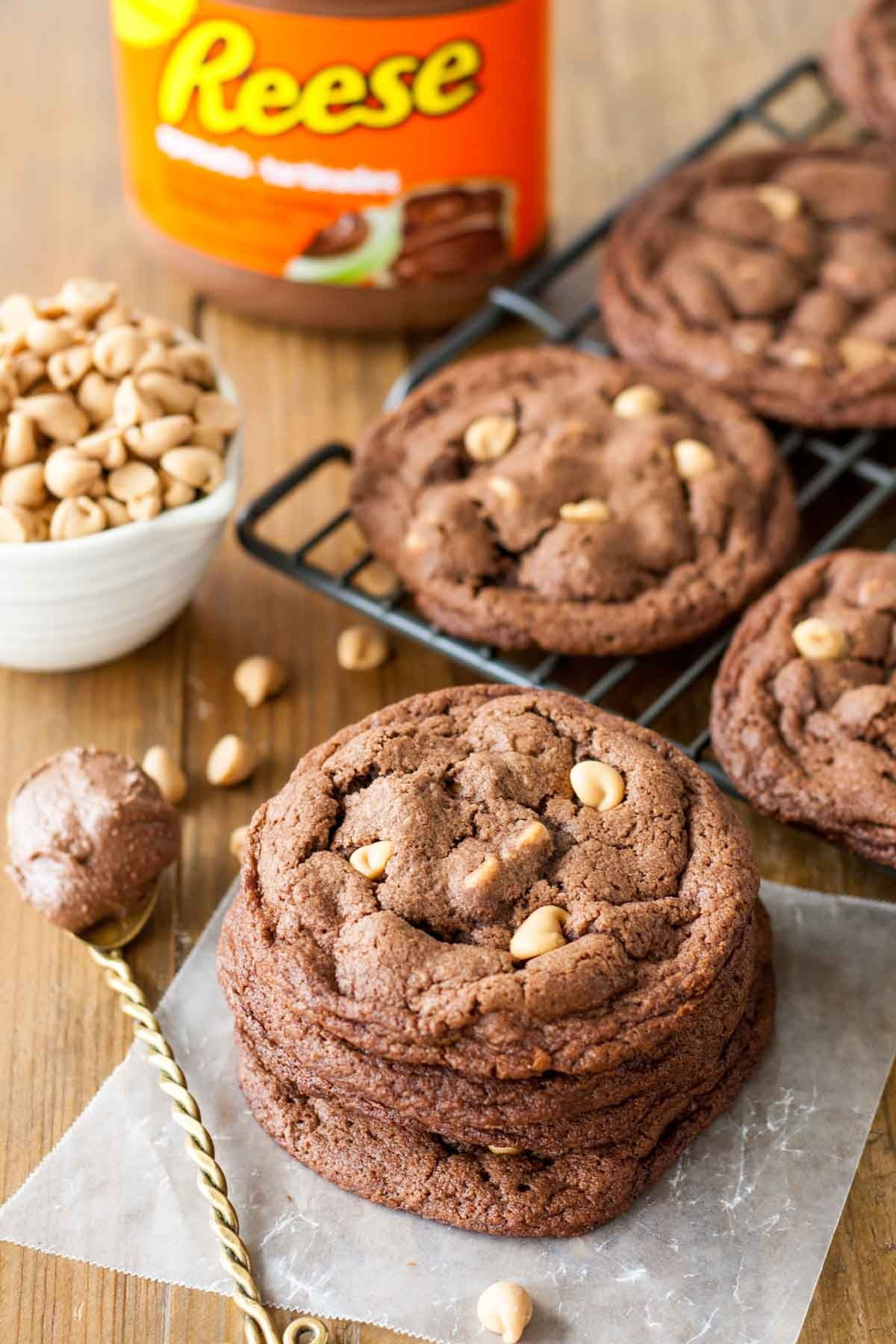 Reese Peanut Butter Chip Cookies | Recipe | Butter spread ...