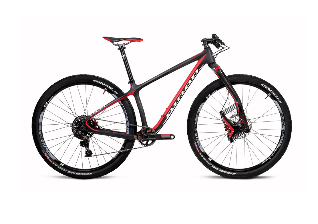 NINER Air 9 RDO XRacer Mountainbike Red Carbon 2016 www