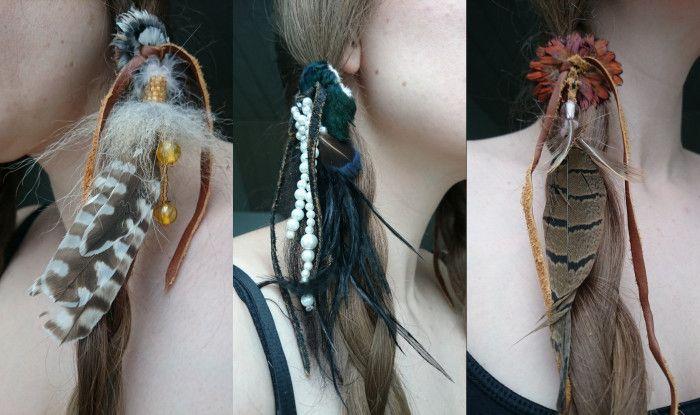 Indianer hårsmykke (9)