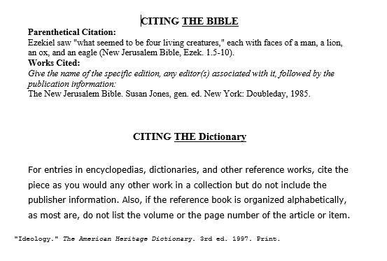 Pin By Tam Abouzeid On Citations For Writing Jerusalem Bible Parenthetical Citations Mla Citation